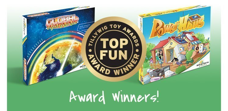 Adventerra Games Win Two Tillywig Awards