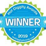 Hot Diggity Awards Winner Seal 2019