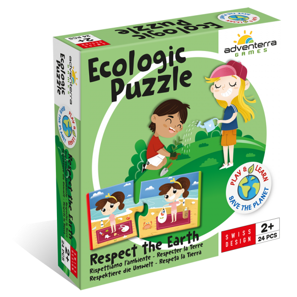 Ecologic Puzzle Respect The EARTH - FRONT