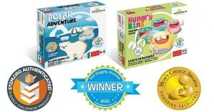 Adventerra Games for Youngest Kids Receive Awards